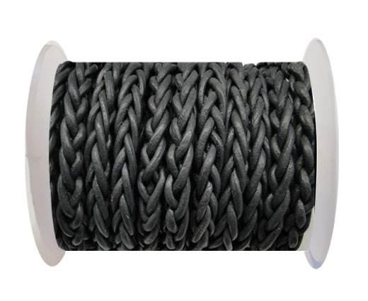 Round Braided Bolo cords - 6mm-SE Grey
