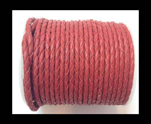 Fine Braided Nappa Leather Cord-SE-16-4mm