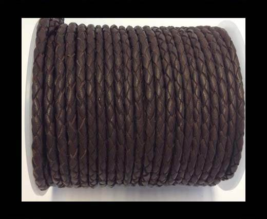 Fine Braided Nappa Leather Cord-SE-18-4mm