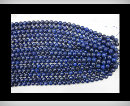 Buy Round Lapis at wholesale prices