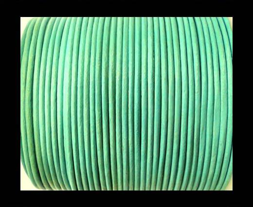 Buy Round Leather Cord-1,5mm-lagoon at wholesale prices