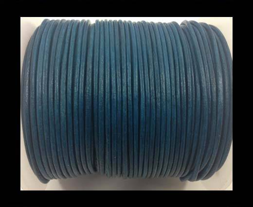 Buy Round Leather Cord-1,5mm-Turquoise at wholesale prices