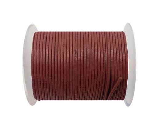 Round leather cord-2mm-SE-R-08