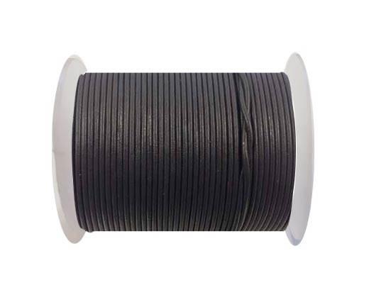 Round leather cord-2mm-SE-R-26-Purpleish