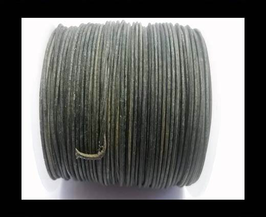 Buy Round Leather Cord -1mm- SE Vintage Grey at wholesale prices