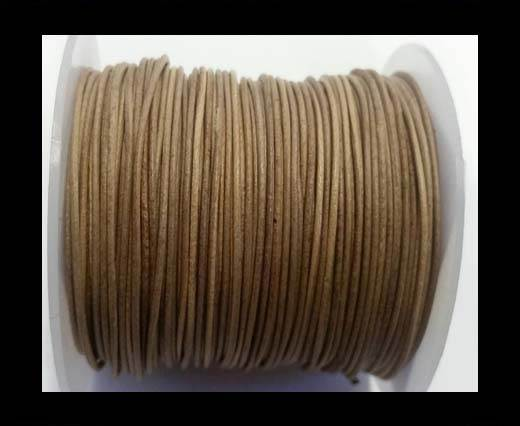 Buy Round Leather Cord -1mm- SE Vintage Taupe at wholesale prices