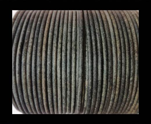 Buy Round Leather Cord-1,5mm-vintage grey at wholesale prices