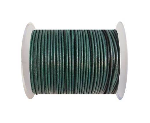 Round leather cord 2mm-MEHANDI