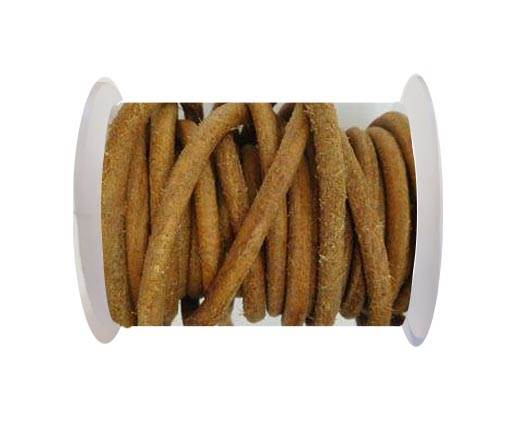 Round Leather Cord - SE.D.Natural-5mm