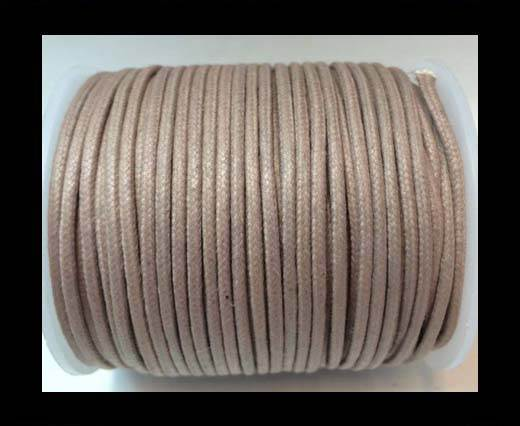 Round Wax Cotton Cords - 3mm  - Lavender