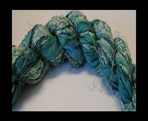 Sari Silk Ribbons-Emrald