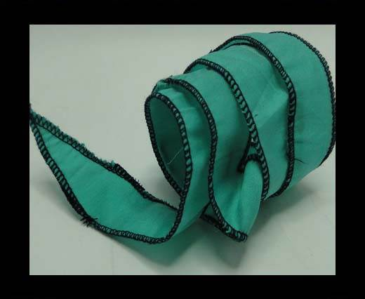 Buy SC-Silk-Taper-1-Turquoise and Green-2,5cms at wholesale prices