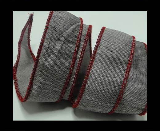 Buy SC-Silk-Taper-1-Grey and Red-2,5cms at wholesale prices