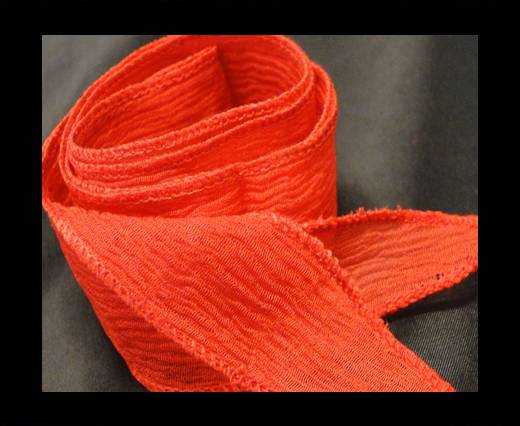 Buy SC-Silk-Taper-Plain Bright Red at wholesale prices