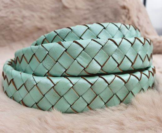 Oval Braided Leather Cord-19mm-se-m-02