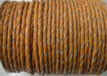 Round Braided Leather Cord SE/B/2005-Fire Opal-8mm
