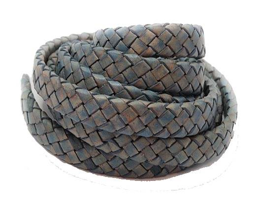 Oval braided cords-8*3.5mm-SE PB 15