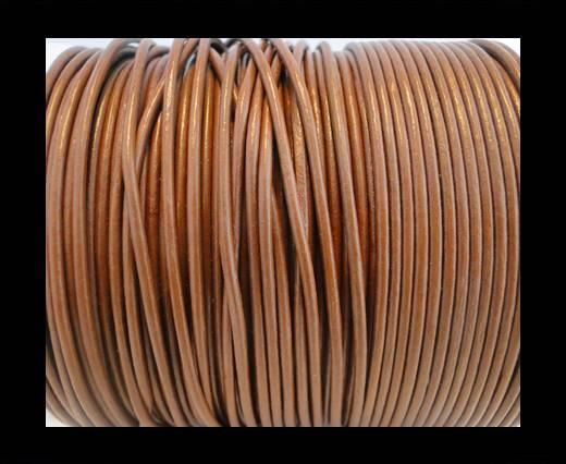 Round Leather Cord SE/R/04-Chocolate - 2mm