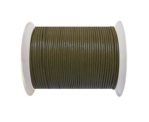 Round Leather Cord -1mm- SE R 22