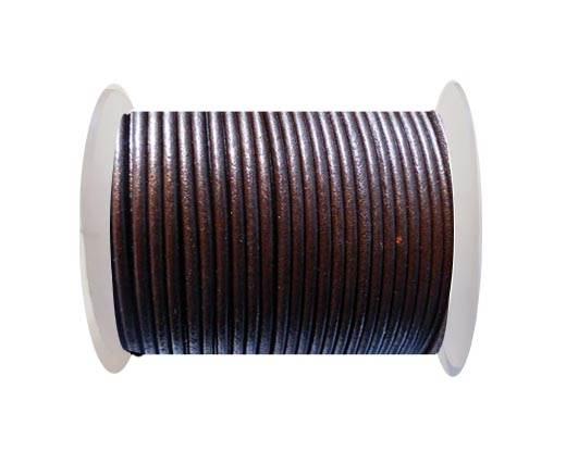 Round Leather Cord SE/R/Tamba - 2mm