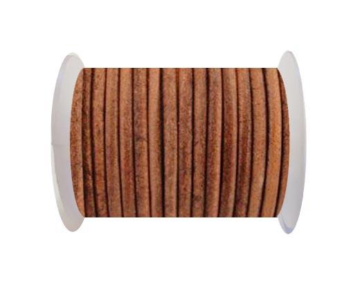 Round Cord SE/R/Vintage Cognac-1,5mm