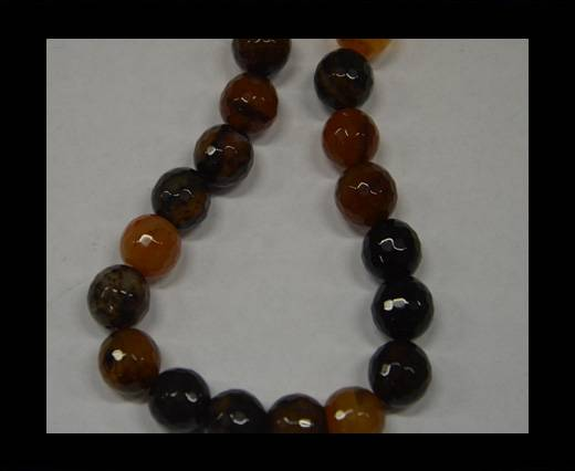 Semi Precious Stones item 3 - 14 mm Multi Black