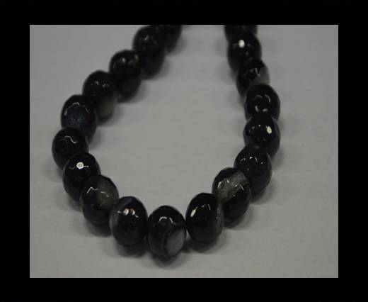 Semi Precious Stones item 3-14mm-Black