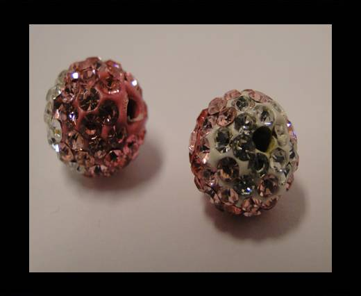 Buy Shamballa-12mm-Tri Light Rose at wholesale prices