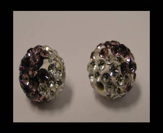 Buy Shamballa-12mm-Tri Violet at wholesale prices