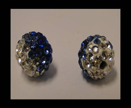 Buy Shamballa-12mm-Tri Saphire at wholesale prices