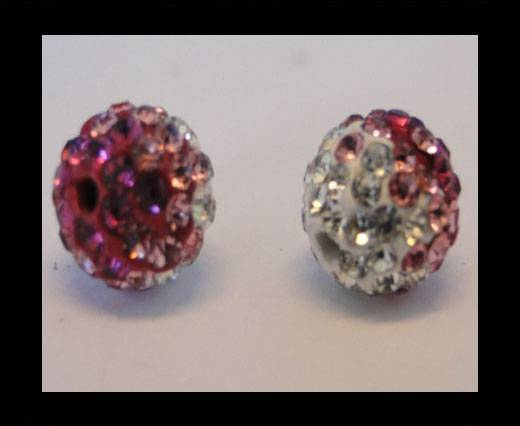 Buy Shamballa-12mm-Tri Rose at wholesale prices