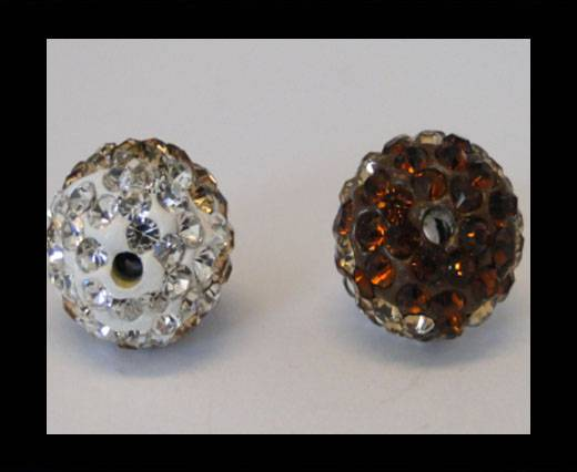 Buy Shamballa-12mm-Tri Smoked Topaz at wholesale prices