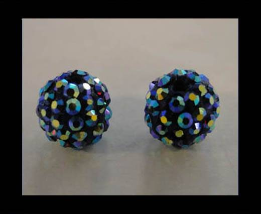 Buy Shamballa-Bead-12mm-Amethyst AB at wholesale prices