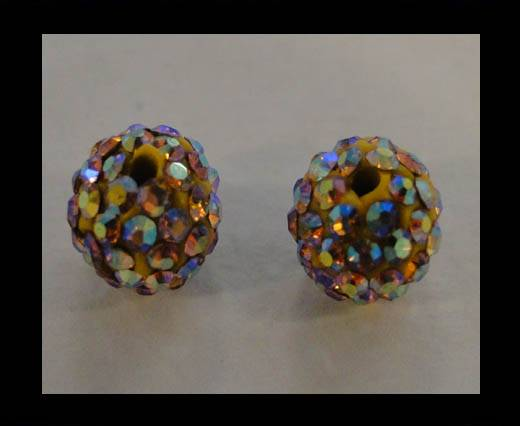 Buy Shamballa-Bead-12mm-Topaz AB at wholesale prices