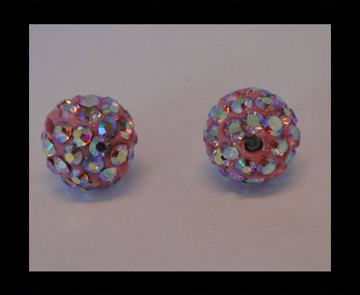 Shamballa-Bead-10mm-Light Rose AB