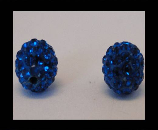 Shamballa-Bead-12mm-Capri Blue