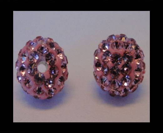 Buy Shamballa-Bead-12mm-Light Rose at wholesale prices