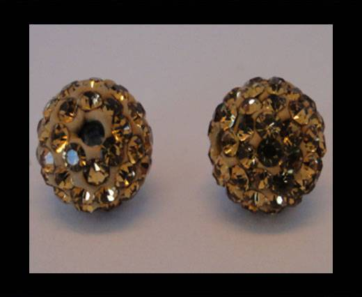 Buy Shamballa-Bead-12mm-Light Topaz at wholesale prices