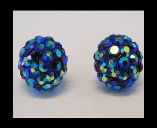 Buy Shamballa-Bead-12mm-Siam AB at wholesale prices