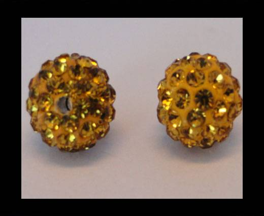 Buy Shamballa-Bead-12mm-Topaz at wholesale prices