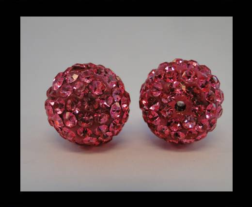 Buy Shamballa-Bead-6mm-Fuchsia at wholesale prices