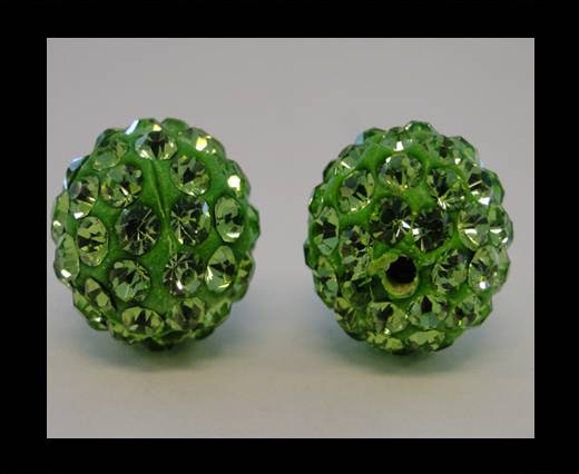 Buy Shamballa-Bead-6mm-Peridot at wholesale prices
