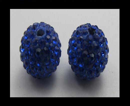 Buy Shamballa-Bead-8mm-Saphire AB at wholesale prices