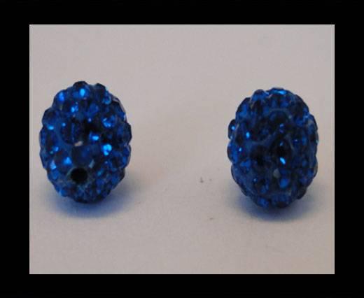 Shamballa-Bead-8mm-Capri Blue