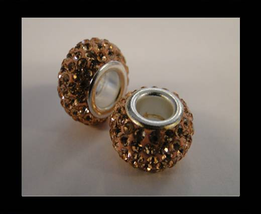Buy Shamballa-Big Hole-Light Peach at wholesale prices