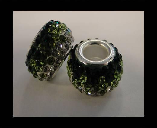 Shamballa-Big Hole-Emerald
