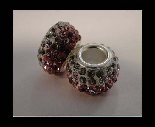 Buy Shamballa-Big Hole-Tri Rose at wholesale prices