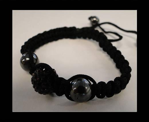 Buy Shamballa Bracelet SB-Amethyst-Style-4 at wholesale prices