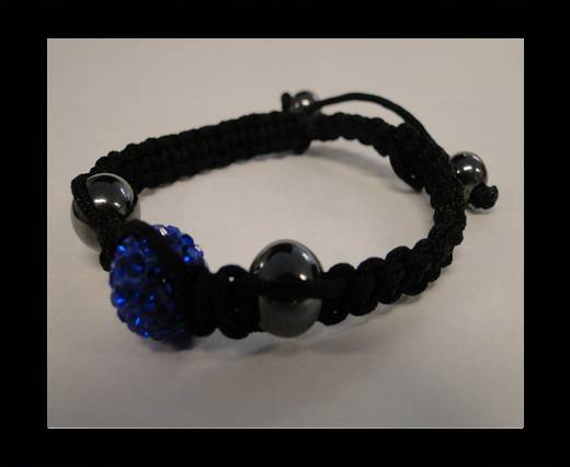 Shamballa Bracelet SB-Sapphire-Style-4