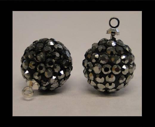 Shamballa-Crystal-Hanger-12mm-Hematite